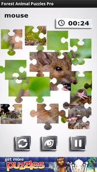 Free Forest Animal Puzzles poster