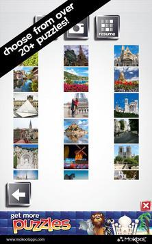 Paris & France Puzzles poster