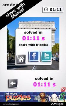 Paris & France Puzzles apk screenshot