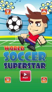 World Soccer Superstar poster