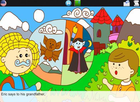 The Vampire's Castle (story) apk screenshot