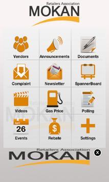 Mokan Retailers Association apk screenshot