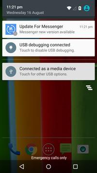 Update for Messenger screenshot 1