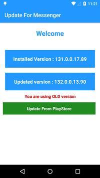 Update for Messenger screenshot 2
