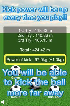 Kick Far Away!! screenshot 4