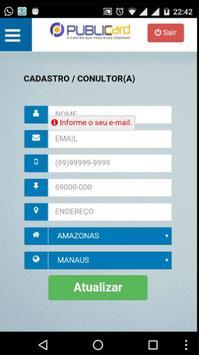 PUBLIC CARD apk screenshot