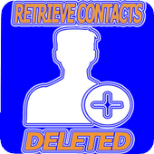 Retrieving deleted numbers and names icon