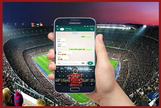 Mohamed Salah liverpol keyboard screenshot 4