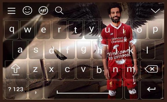 Mohamed Salah liverpol keyboard screenshot 1