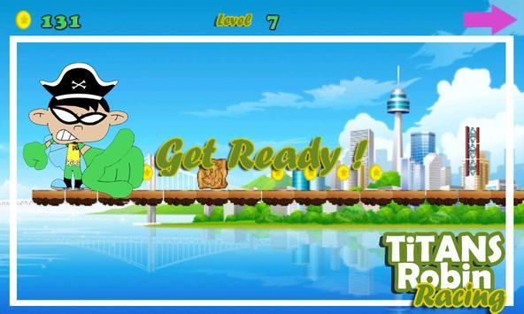 Titans Robin Racing FREE apk screenshot