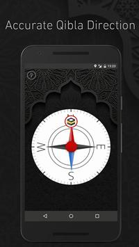 Accurate Qibla Direction: White Edition apk screenshot