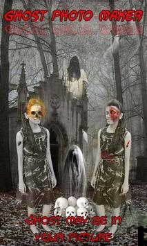Ghost Photo Maker – Zombie screenshot 1