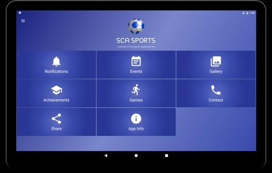 SCA Sports apk screenshot