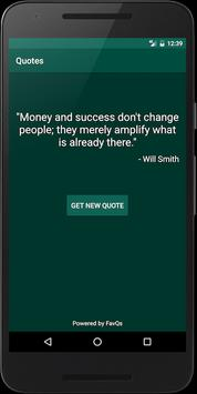 Quotes apk screenshot
