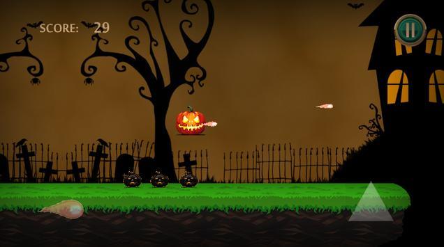 "Angry Halloween Adventure -  "" Jump & Shooter"" apk screenshot"