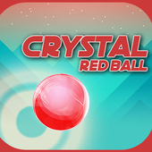 Hop Up Rush - Jump Ball - Crystal Red Ball icon