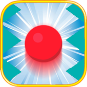 red ball spikes icon