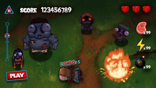 Pukulan keras Zombie screenshot 14