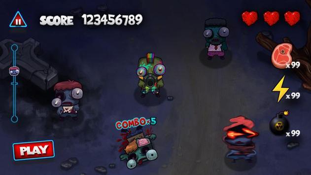 Pukulan keras Zombie screenshot 13