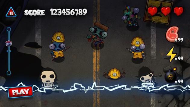 Pukulan keras Zombie screenshot 7