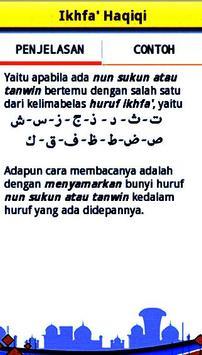 Belajar Ilmu Tajwid Al-Quran apk screenshot