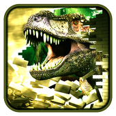 Dinosaurs 3D War icon
