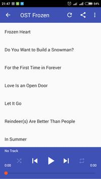 Best Collection of Frozen Soundtracks screenshot 2
