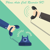 Phone Auto Call Recorder HD icon