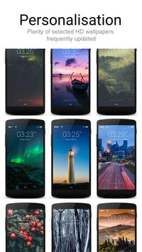 Lock Screen Iphone style apk screenshot