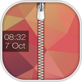 Fancy Zipper Lock Screen icon