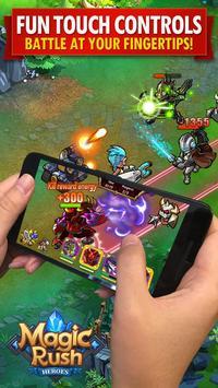 Magic Rush: Heroes Cartaz