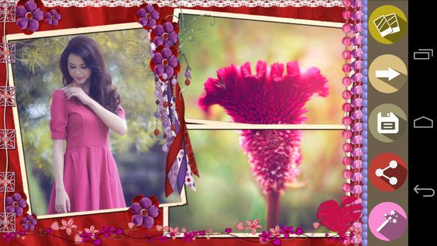 Flower Photo Frames apk screenshot