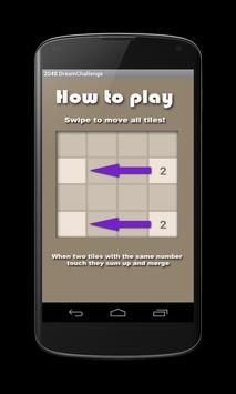 2048 Dream Challenge screenshot 7