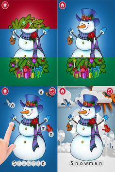Moona Puzzles Christmas Lite screenshot 1