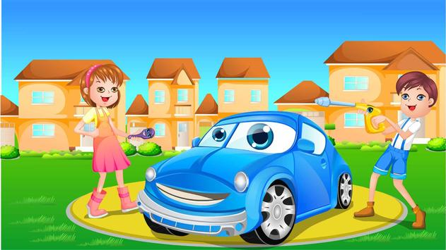Baby Car Wash & Go poster