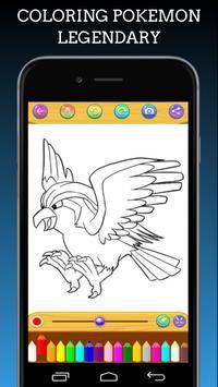 Pokemon Coloring Book Legendary screenshot 3