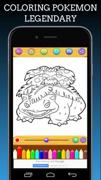 Pokemon Coloring Book Legendary screenshot 5