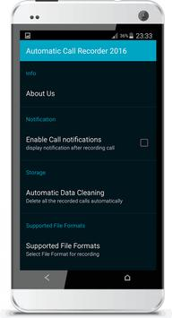 Automatic Call Recorder 2016 screenshot 4