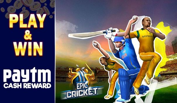 Epic Cricket - Best Cricket Simulator 3D Game poster