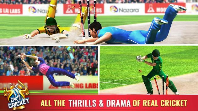 Epic Cricket - Best Cricket Simulator 3D Game apk screenshot