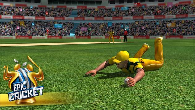 Epic Cricket - Best Cricket Simulator 3D Game apk screenshot