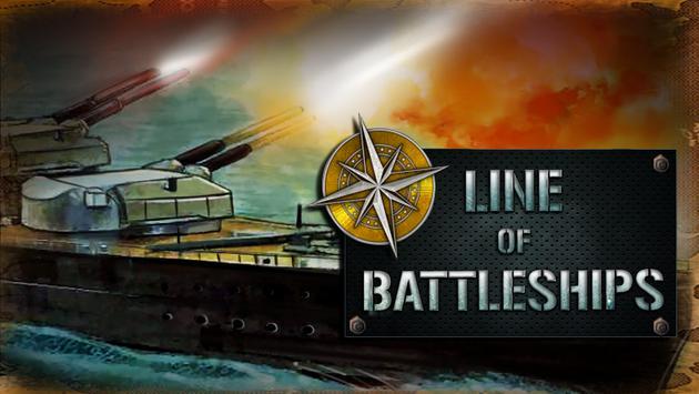 Line Of Battleships: Naval War poster