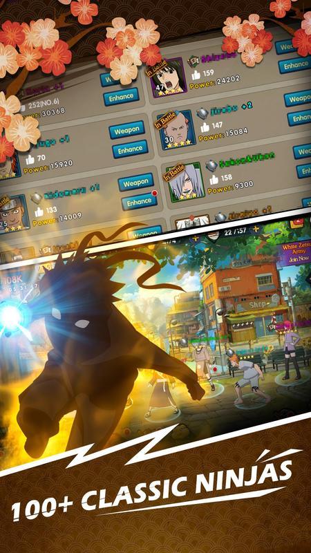 Clash of ninja screenshot 1