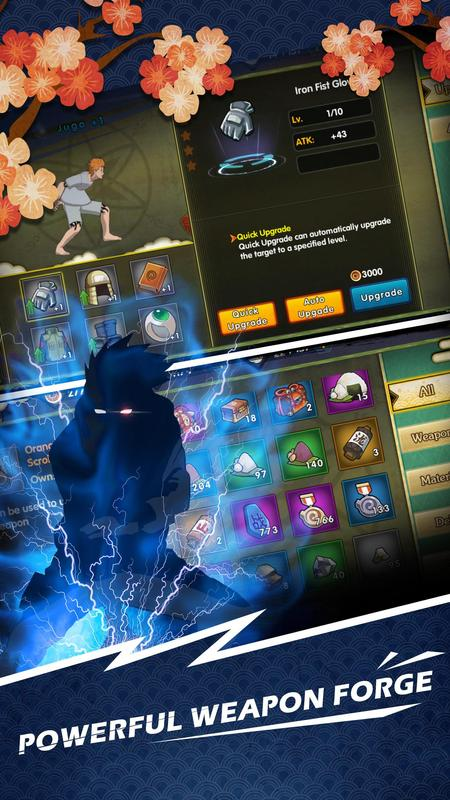 Clash of ninja screenshot 2