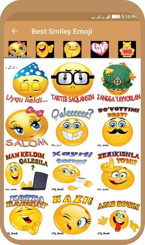 how to download smileys for android