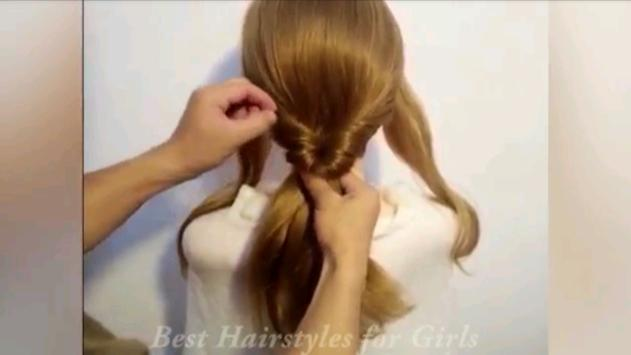 Hairstyle Tutorial For Girls screenshot 2