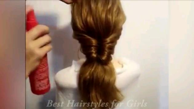 Hairstyle Tutorial For Girls screenshot 8
