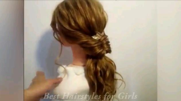 Hairstyle Tutorial For Girls screenshot 9