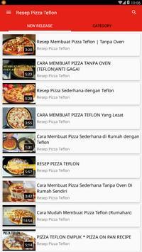 Resep Pizza Teflon poster