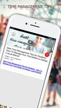 Time Management Tips screenshot 1